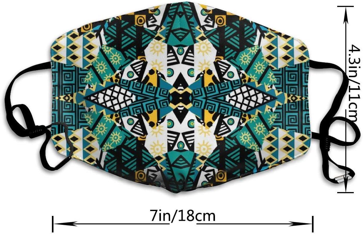 Wrution Mosaico de Retazos con Motivos africanos, máscara de ...