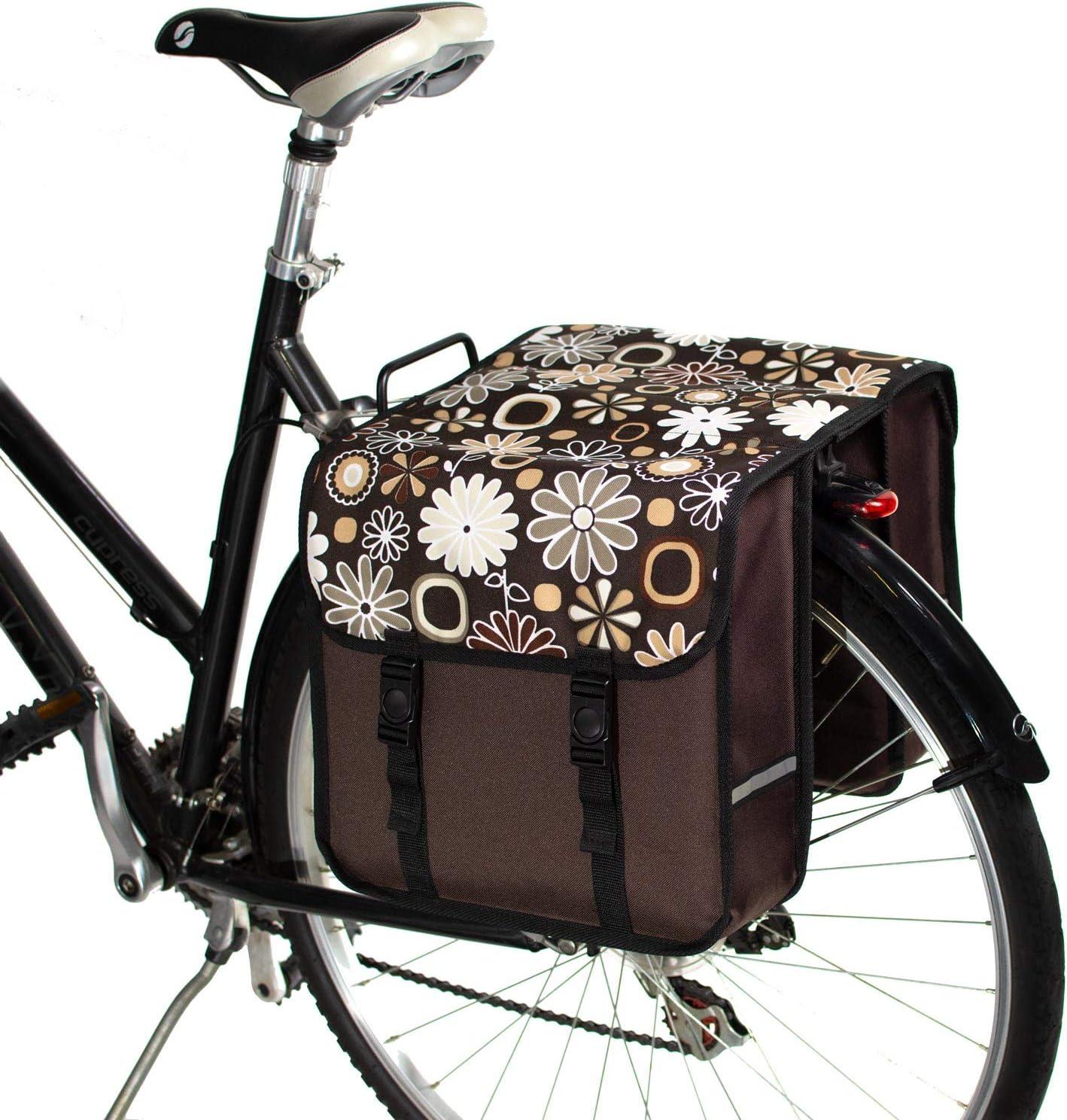 Doble Alforjas para Bicicletas BikyBag Cl/ásica