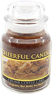 product image for A Cheerful Giver Crumb Coffee Cake Jar Candle, 6-Ounce
