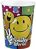 Amscan - 551958 - 8 Gobelets Smiley Comic - 266 ml