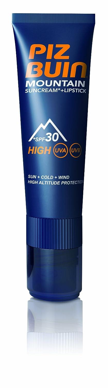 Piz Buin, Mountain, Crema solare e balsamo labbra con protezione solare SPF 30, 20 ml C-PB-028-01