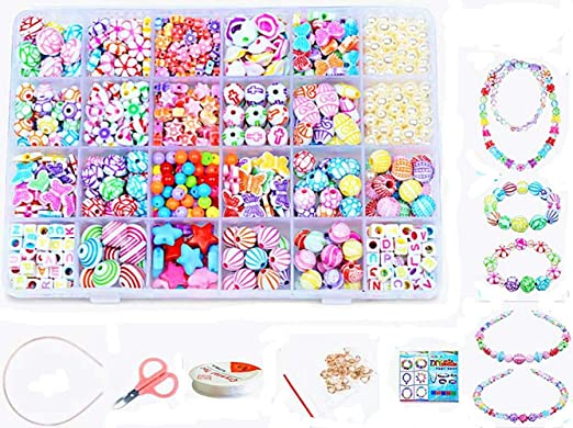 Jewelry Kit Accessories Weaving Machine Assorted Colourful Beads DIY Necklace