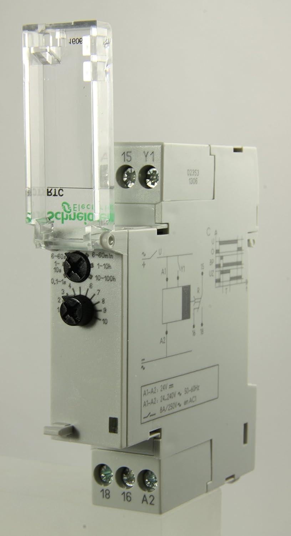 Schneider Multi 9 - 16067 RTC Time Delay Device: Amazon.co.uk: DIY & Tools