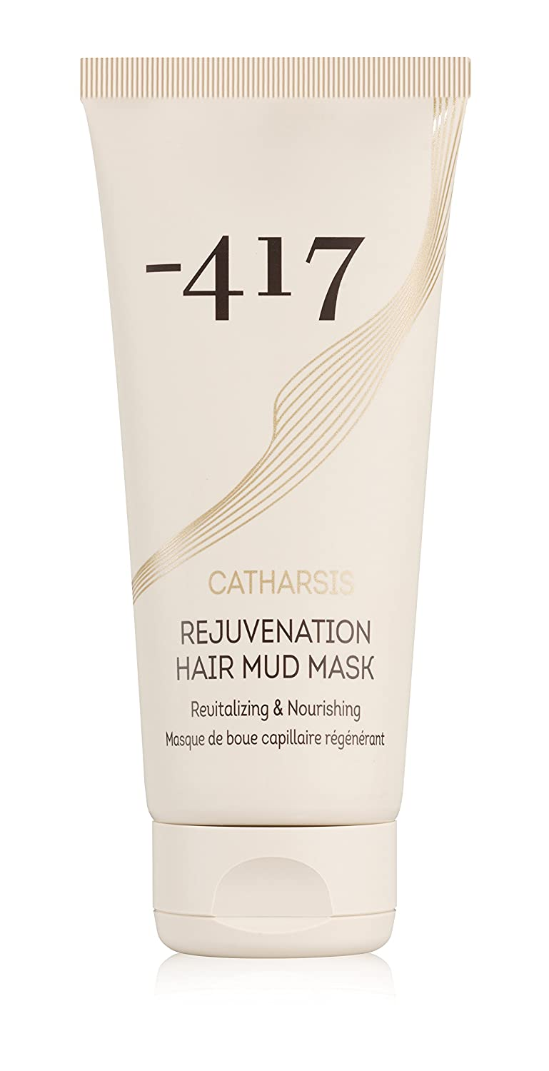 -417 Dead Sea Cosmetics Rejuvenation Hair Mud Mask, Vegan & Natural Hair Repair Deep Treatment - with Shea Butter & Aloe Vera - Perfect for Dry, Dyed and Damaged Hair.
