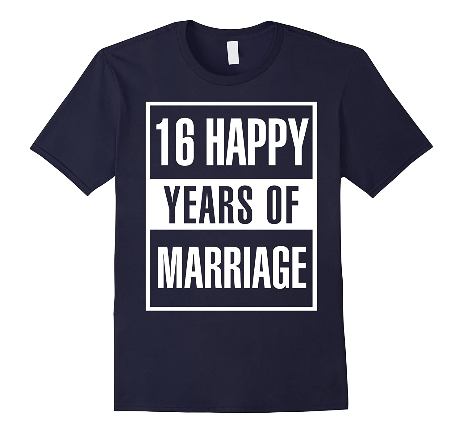 16th Wedding Anniversary Gift Idea Husband And Wife T-Shirt-Art
