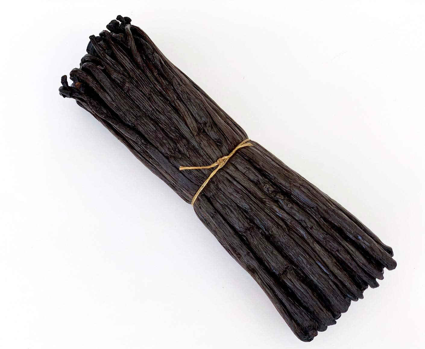 Madagascar Vanilla Beans Grade A for Extract, Cooking and Baking (25ea) by FITNCLEAN VANILLA. 5.5''-7'' Bourbon Fresh Gourmet NON-GMO Whole Pods by FITNCLEAN SPICES
