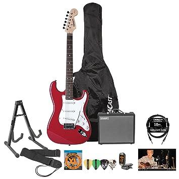 Fender starcaster Pack de guitarra eléctrica con amplificador y accesorios: Amazon.es: Instrumentos musicales