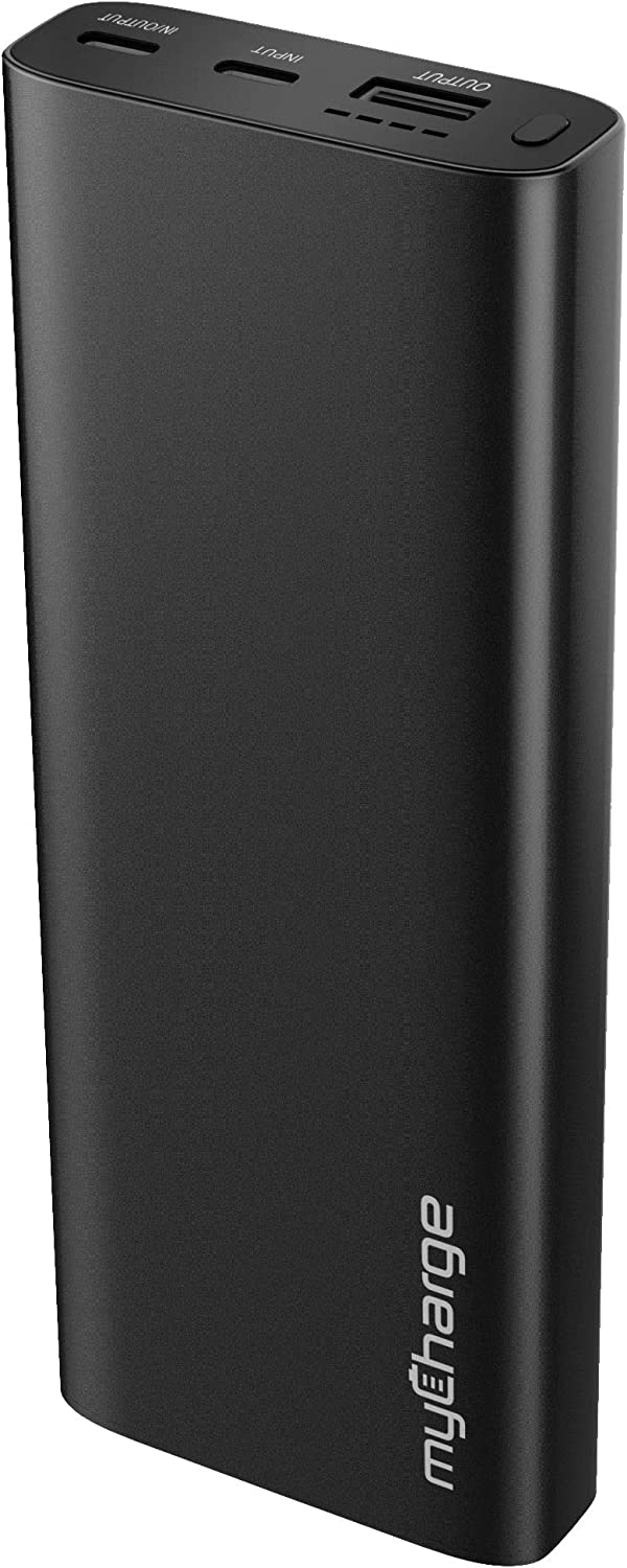 myCharge Portable Charger Power Bank - USB C Battery Pack RazorTurbo 20100mAh Internal Battery / 18W Fast Charging External Cell Phone Backup for Apple iPhone 12, iPad & Android for Samsung Galaxy