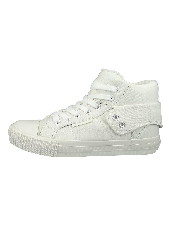 Sneaker B41-3702 Monochrome Weiss Off-White, Groesse:36 EU/3 UK/4.5 US British Knights