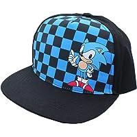 Sonic The Hedgehog Baseball Cap for Boys Hat - Checkered Black