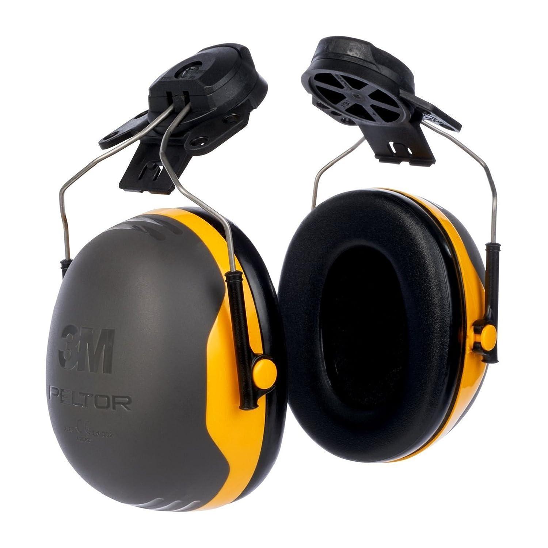 SNR = 30 dB 3M Kapselgeh/örschutz X2P3E schwarz//gelb Helmbefestigung