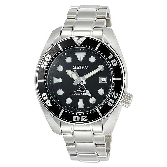 Seiko Reloj Analógico Automático para Hombre con Correa de Acero Inoxidable - SBDC031: Amazon.es: Relojes