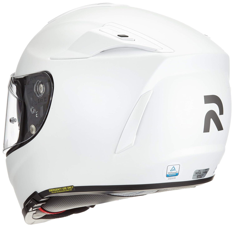 Wei/ß Gr/ö/ße M HJC Motorradhelm RPHA 70 Semi Mat Perle