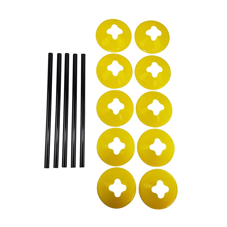 Tunturi h/ürden 5,5 x 60 cm gelb 5 St/ück
