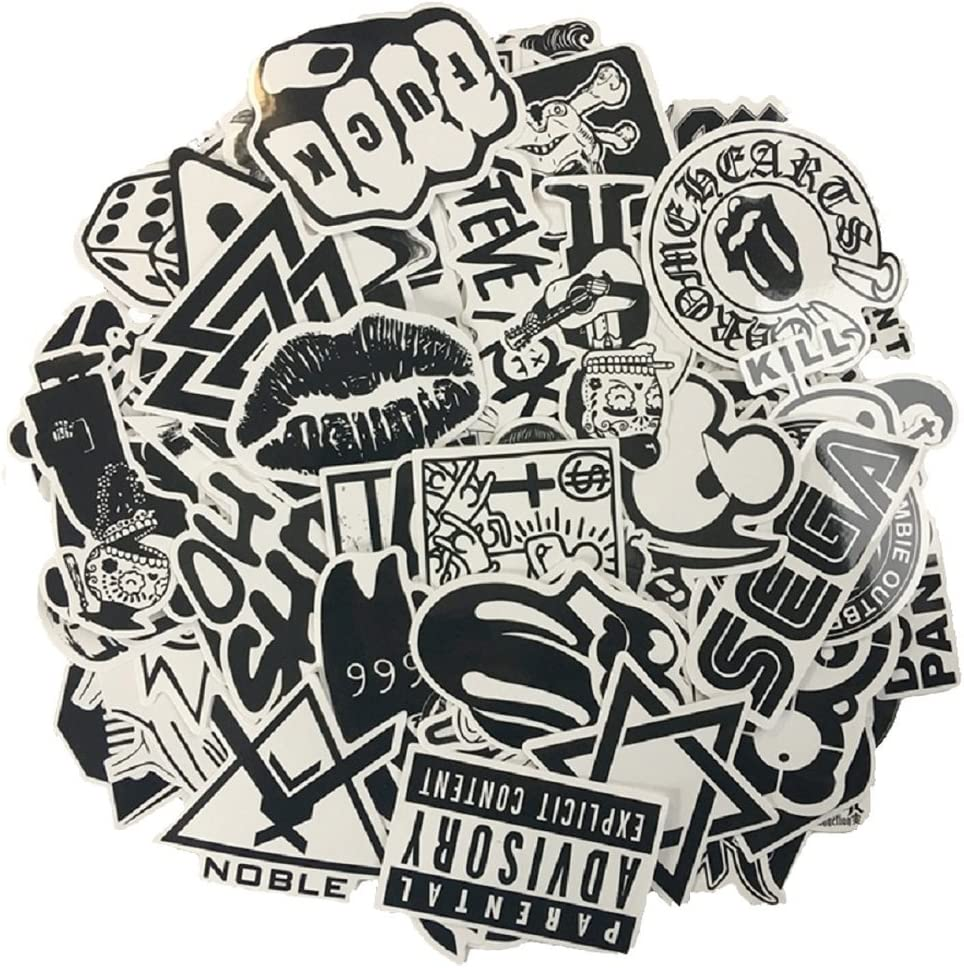 120 pegatinas de vinilo, diseño tipo graffiti