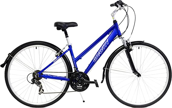 New in Box Gravity Dutch 21 Speed Hybrid City Commuter Bicycle with Fenders