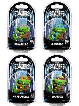 Las Tortugas Ninja - actiefiguurtjes Scaler - Set Van 4 ...