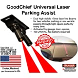 GoodChief Universal Garage Laser Parking Assist – An Innovative Way to Easily Park and Guide with Dual Laser Lines Projected on Your Vehicle. Find the Difference on Our Video