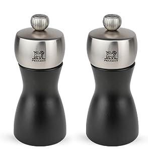 Utensils, Gadgets Grinders Good Peugeot Clermont 24cm Wooden Salt & Pepper Mill Grinder Set In Chocolate Brown 2019 New Fashion Style Online