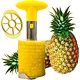 Tailbox Stainless Steel Pineapple Corer Slicer - Pineapple De-Corer, Cutter, Pineapple Peeler Stem Remover Blades for easy coring and stem remover - All In Two Kitchen Gadget