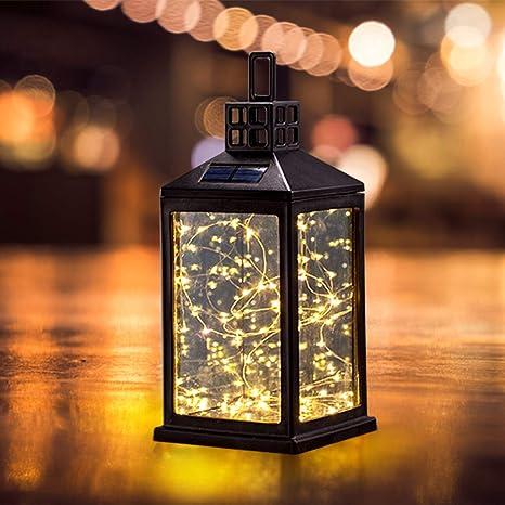Genial Solar Lantern Lights Outdoor SUNWIND Waterproof Solar Table Lamp Hanging  Lighting With 30 Warm White LEDs For Garden Patio Landscape Decoration      Amazon. ...