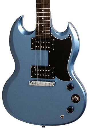 Edición limitada Epiphone SG guitarra eléctrica special-i Pelham azul: Amazon.es: Instrumentos musicales