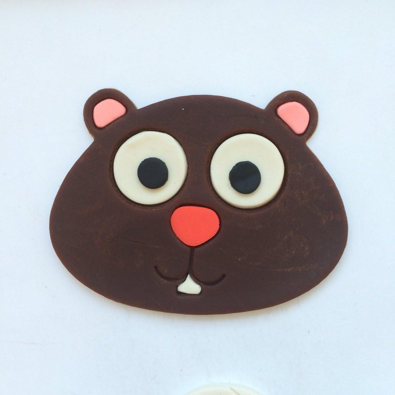 Beaver Face 100 Cookie Cutter Set