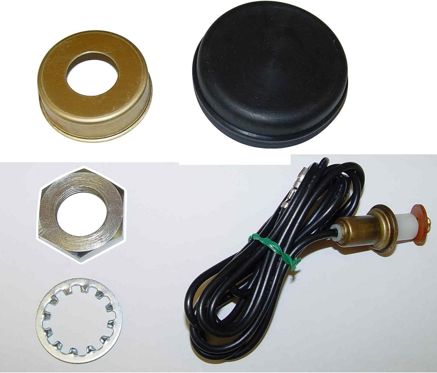 Omix-Ada 18032.04 Horn Button Kit for Jeep CJ Models