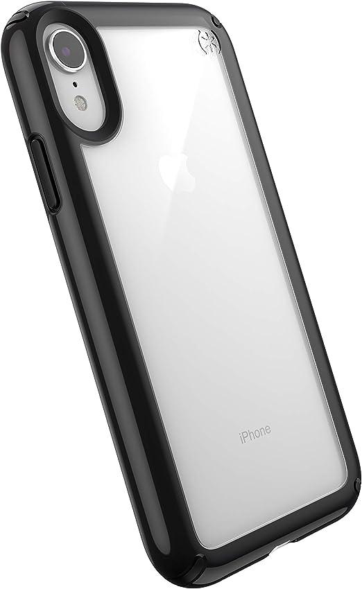 Speck Products Presidio Show Coque pour iPhone XR Transparent/Noir