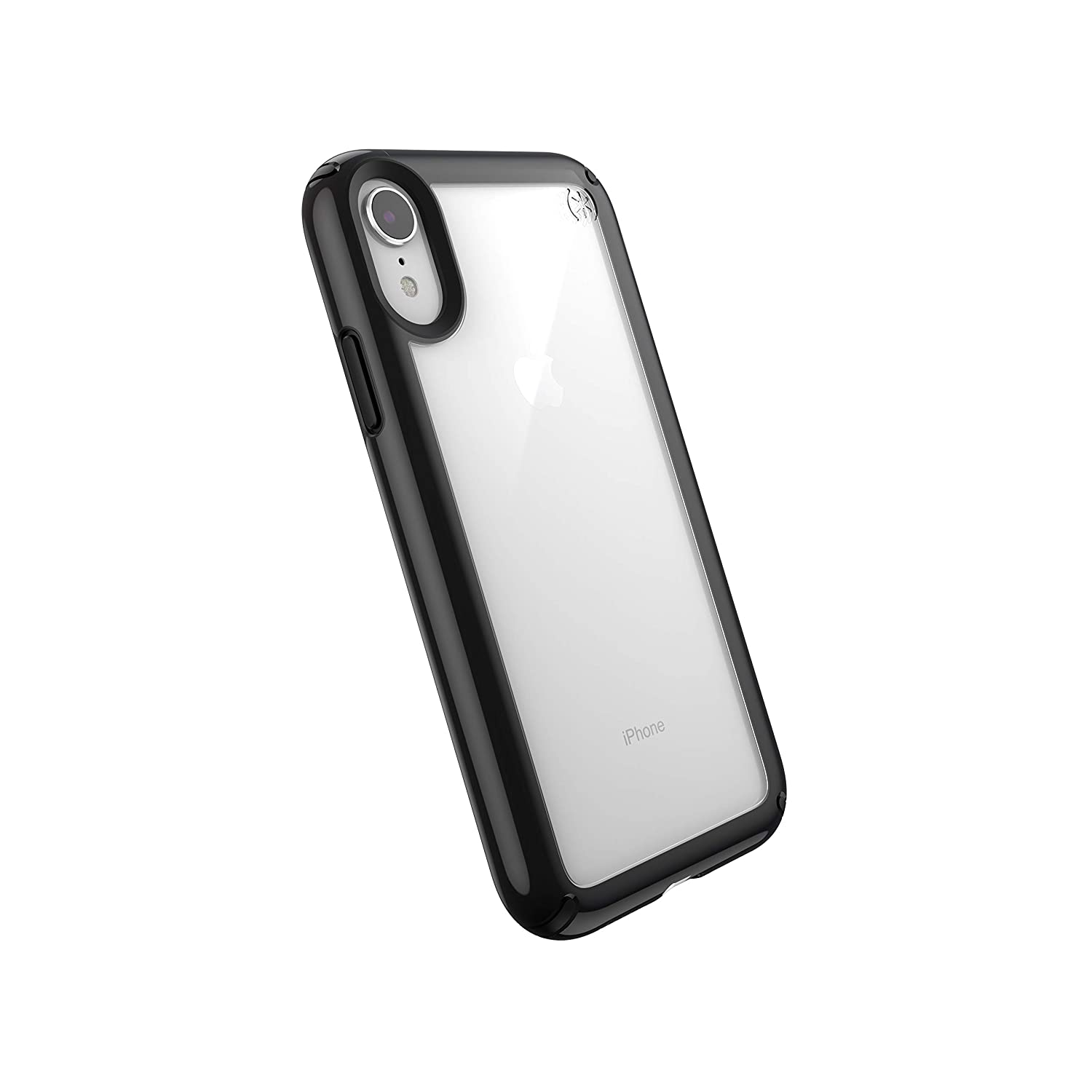 uk availability 22219 4848c Speck Products Presidio Show iPhone XR Case, Clear/Black
