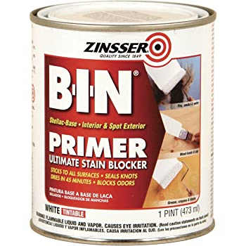Zinsser 03504 Cover Stain Interior Exterior Oil Primer