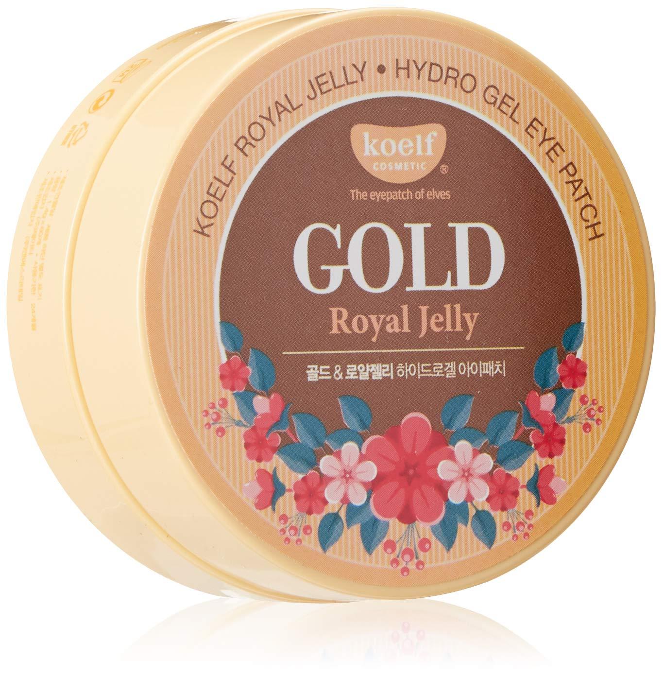 Gold Royal Jelly Hydro Gel Eye Patch - 60pcs/30pairs Koelf