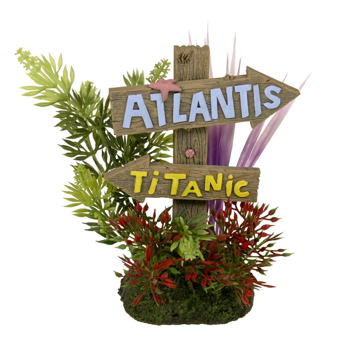 nuovo di marca blu Ribbon Ribbon Ribbon 006085 Exotic Ambienti Atlantis & Titanic Sign, Grande  outlet online economico