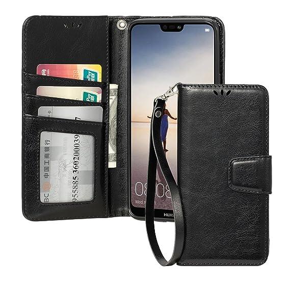 f291e723d27aa7 Amazon.com  Shemax for Huawei P20 Lite Wallet Case