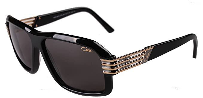 bc8b8c15ed4 Cazal 8023 Sunglasses 001 Black Grey Gradient 61mm  Amazon.co.uk  Clothing