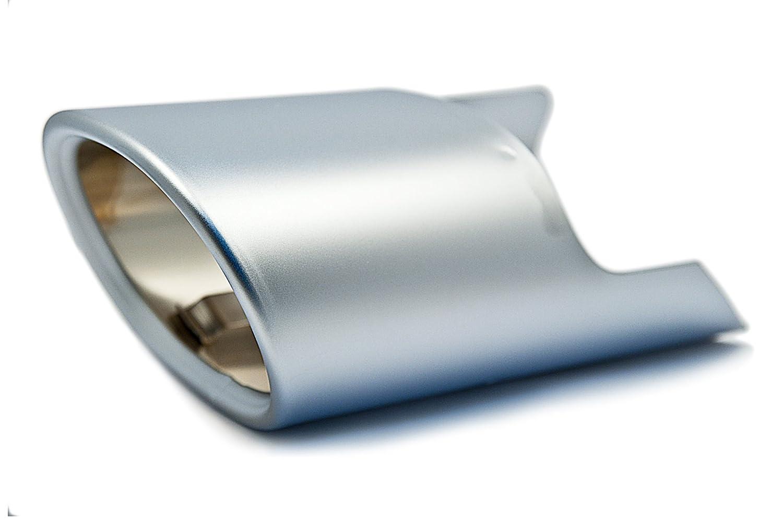 BMW Genuine Exhaust Tailpipe Tip Trim Aluminium (18 30 7 803 692)