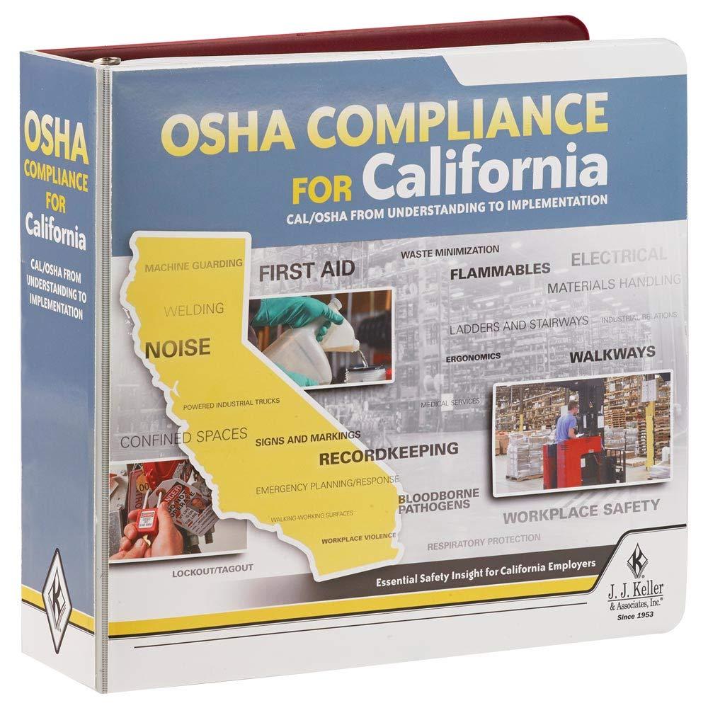 OSHA Compliance for California Manual - Latest Edition