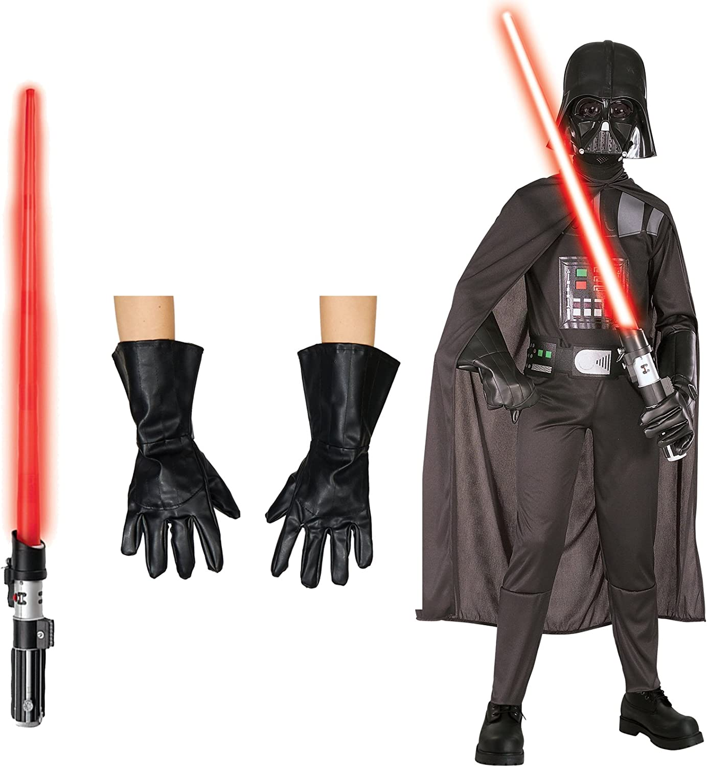 Star Wars Darth Vader costume Bundle – Disfraz de niño pequeño ...