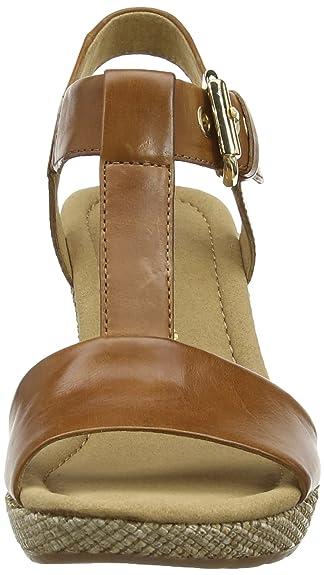 Gabor Shoes (22.824.54), Sandales Compensées Plateforme Femme: : Chaussures et Sacs