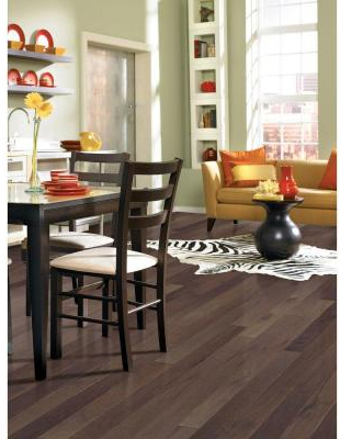 Heritage Mill Brushed Vintage Hickory Pewter 3/4 in. Thick x 4 in. Wide x Random Length Solid Hardwood Flooring (21 sq. ft. / case)-PF9759 - The Home Depot