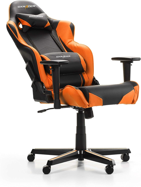 loriginale 165-195 cm Finta pelle Racing R0 Sedia Gaming Nero /& Rosso DXRacer