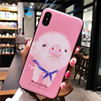 BONTOUJOUR iPhone 7 Plus case iPhone 8 Plus Cover Case Super Cute Cartoon Animal Pattern Soft TPU Bumper Hard PC Back…