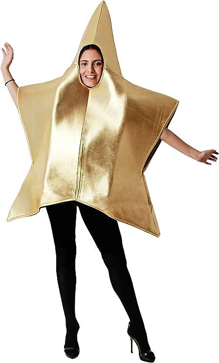 Costumizate! Disfraz de Estrella para Mujer Adulta Talla Unica ...