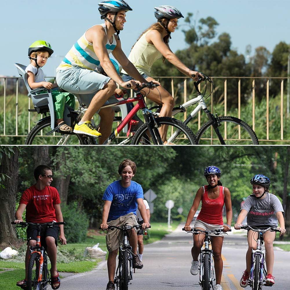 WZR Housse De Si/ège De V/élo en Gel pour Hommes Et Femmes,Douce Selle De V/élo Coussin en Gel,Confortable Coussin Int/érieur Cyclisme V/élo Dappartement V/élos Stationnaires