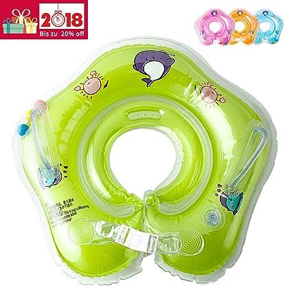 Baby flotador (36102 para el cuello flotador verde verde