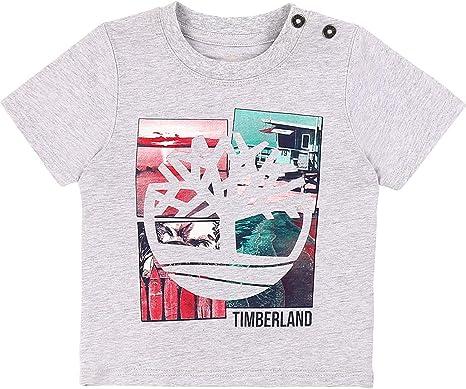 Timberland Camiseta de algodón orgánico Infantil: Amazon.es: Ropa ...