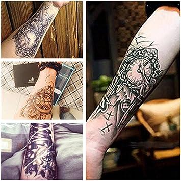 LZC 4 unidades de tatuaje temporal adulto para el hombro, para las ...