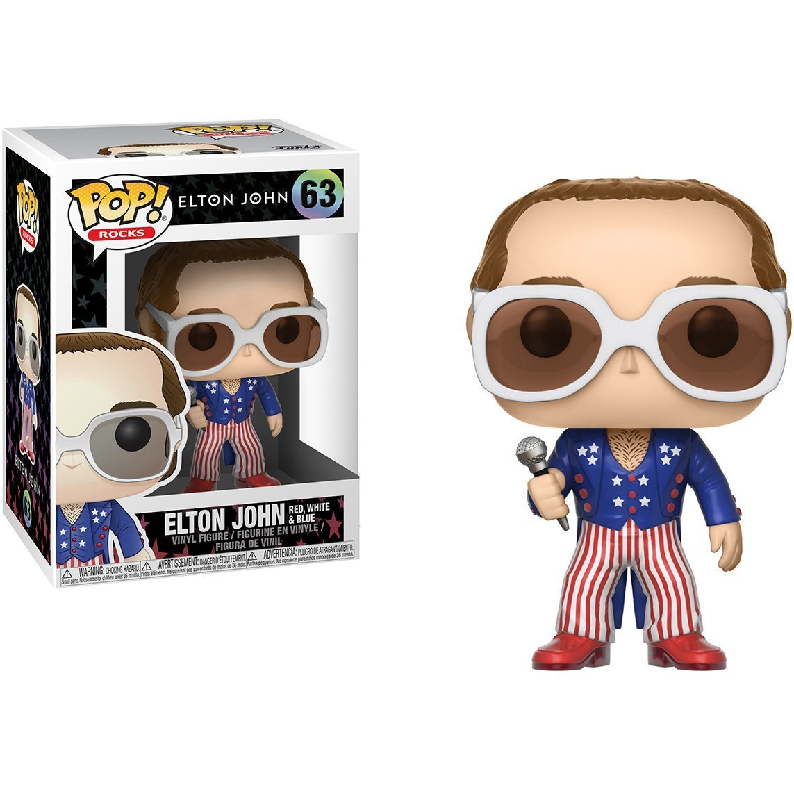 Elton John Greatest Hits Pop 10cm Figurine Rocks