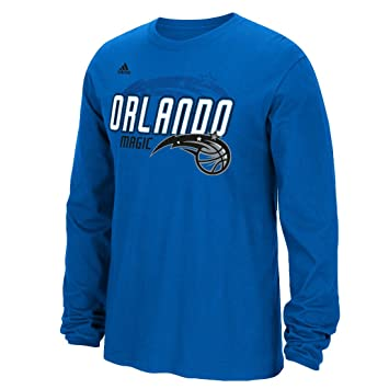 Adidas Orlando Magic NBA Distressed Back Logo Men s Long Sleeve – Camiseta ,