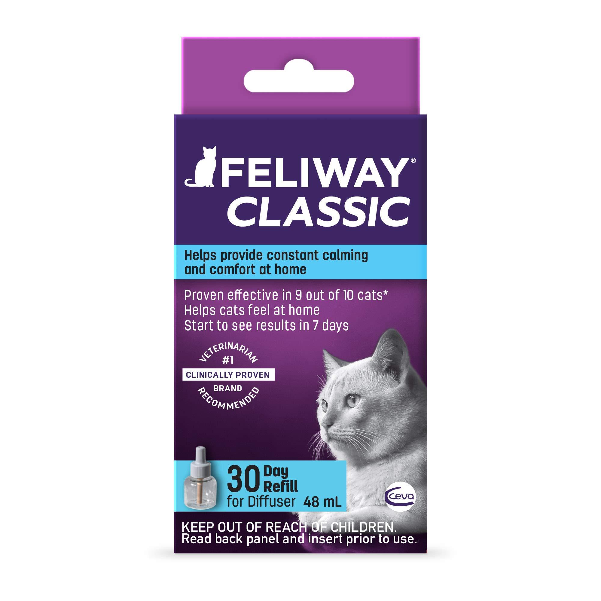 Feliway Classic Diffuser Refill for Cats | Constant Calming & Comfort At Home